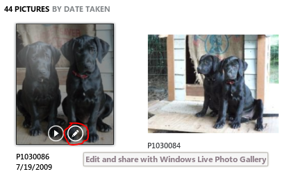 Edit your photos in WL Photo Gallery… from Zune 4.7 ...