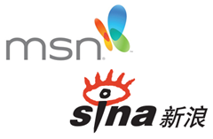 MSN China and SINA Partnership
