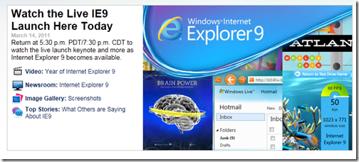 IE9-release Featured News