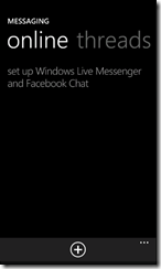 Messenger and Facebook Chat