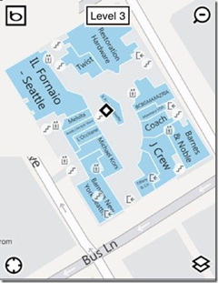 mobile mall map
