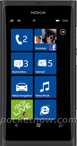 Nokia-800-Black Mobile
