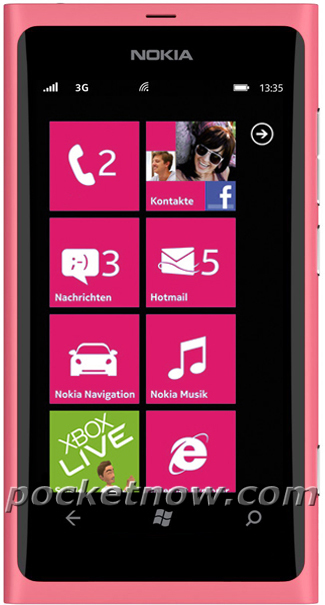 Nokia-800-Pink Mobile