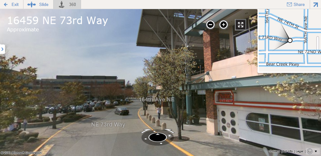 Maps 360.Bing Maps Brings Back 360º Immersive Panorama View In Addition To