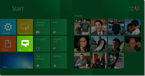 Windows 8 Call