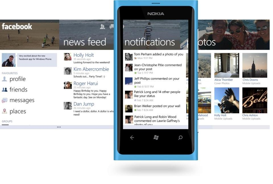 Facebook for Windows Phone version 2 5 update coming soon