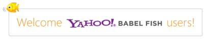 Yahoo! Babel Fish