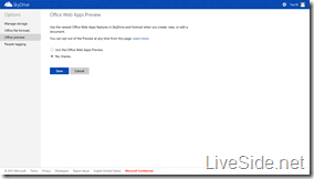 SkyDrive - Office Web Apps Preview