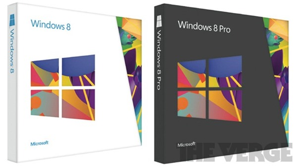 Windows 8 Retail Packaging