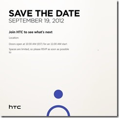 HTC Windows Phone Event
