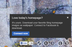 bing download facebook