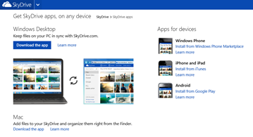 update skydrive