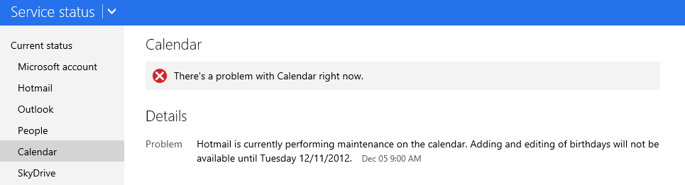 Lync status not updating with outlook calendar