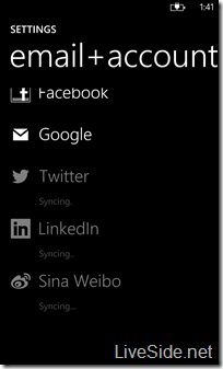 WP8 Sina Weibo connection