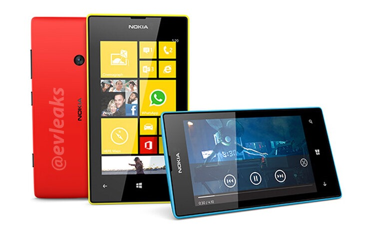 """Nokia Lumia 520 and 720 device renders leaks, Nokia """"Laser"""" passes ..."""