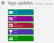 bing apps update