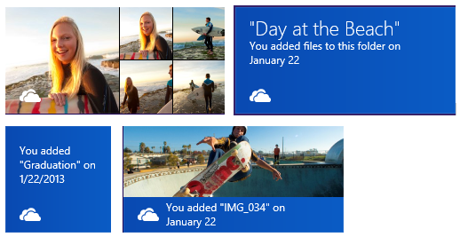 SkyDrive-Live-Tiles Featured News