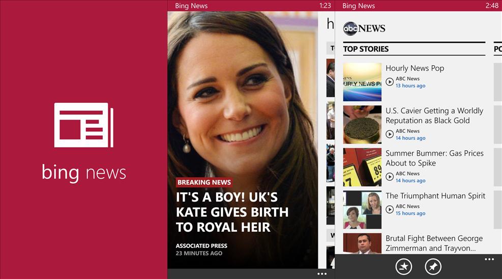 Microsoft re... Bing News