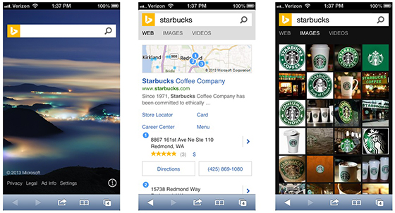Bing-on-Mobile Bing Featured