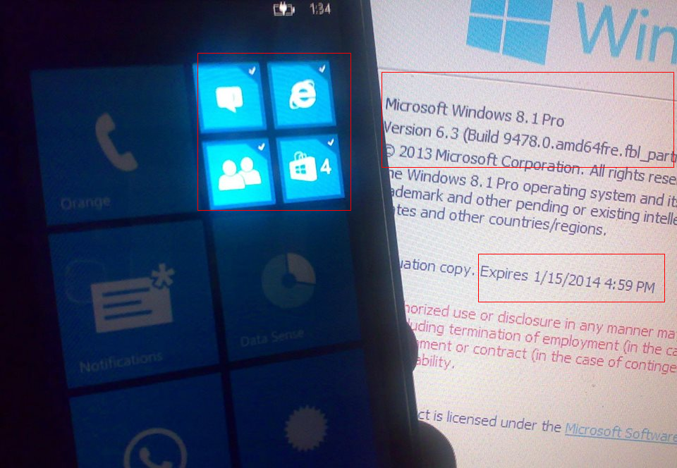 Windows-Phone-8.1-Multi-select Mobile