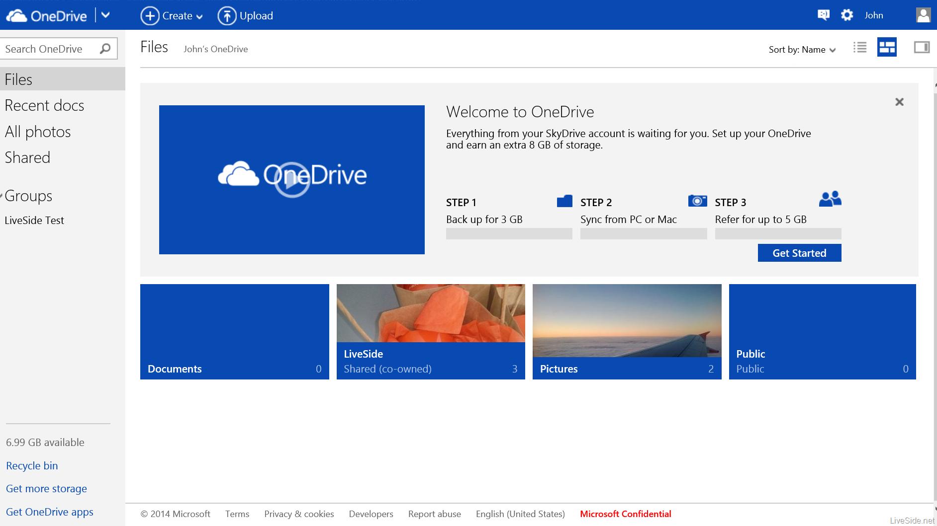 Onedrive storage free 100gb